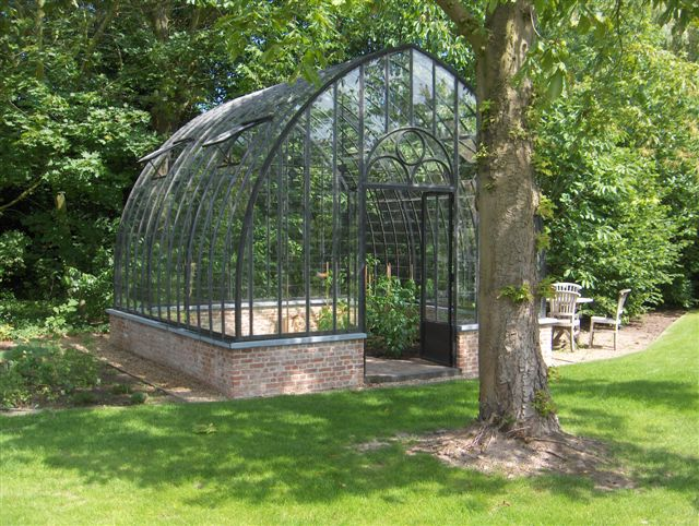 garden greenhouses wrought iron glass DBG Classics