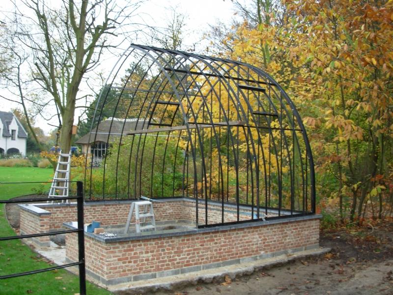 zelfbouwpakket tuinserre of laten plaatsen DBG Classics