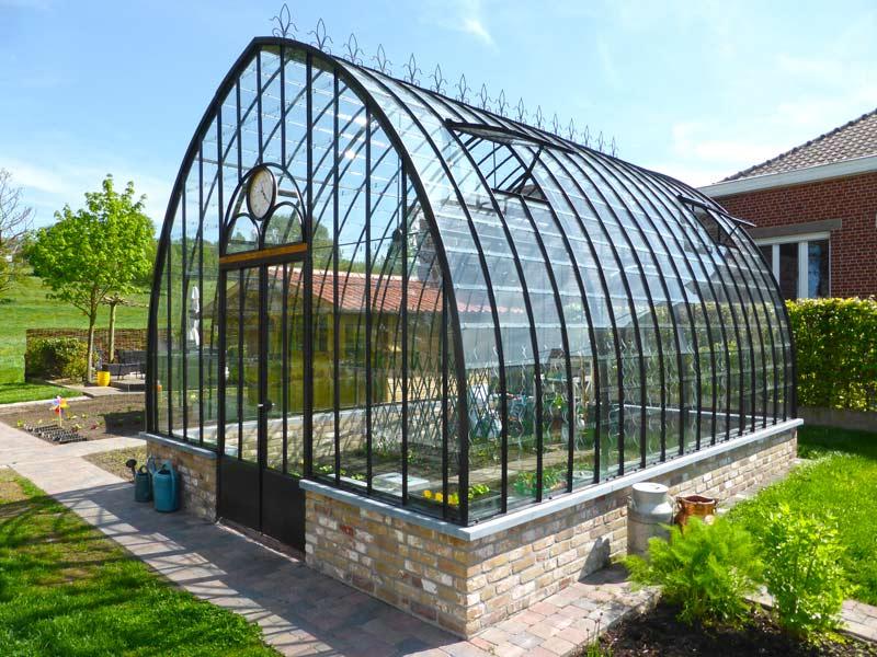 freestanding wrought iron conservatory DBG Classics