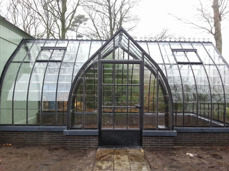 freestanding greenhouse wrought iron DBG Classics