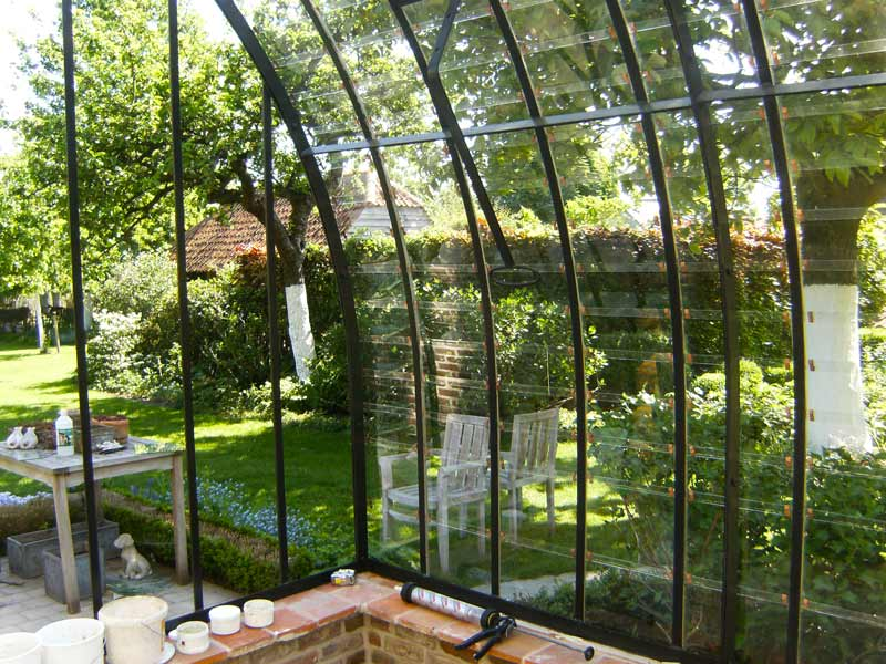 lean to conservatory glass interior DBG Classics