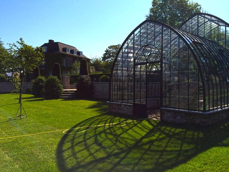 victorian conservatory freestanding classic wrought iron glass DBG Classics
